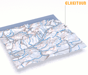 3d view of El Keïtoun