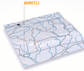 3d view of Ahmetli