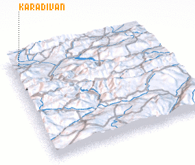 3d view of Karadivan