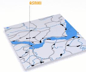 3d view of Asniki