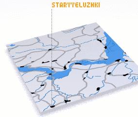 3d view of Staryye Luzhki