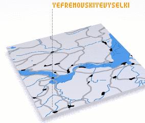3d view of Yefremovskiye Vyselki