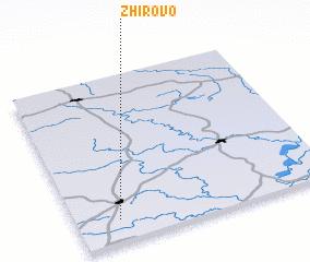 3d view of Zhirovo