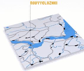 3d view of Novyye Luzhki