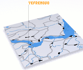 3d view of Yefremovo