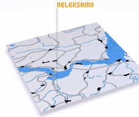 3d view of Melekshino