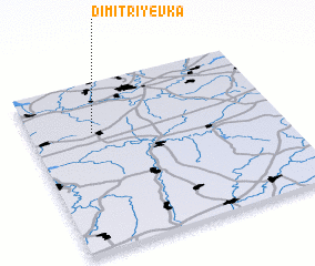 3d view of Dimitriyevka