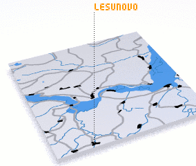 3d view of Lesunovo