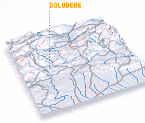 3d view of Doludere