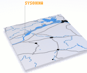 3d view of Sysoikha