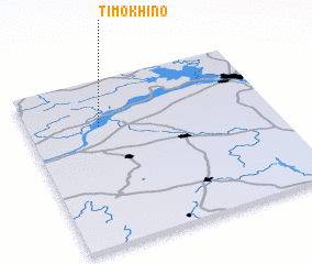 3d view of Timokhino