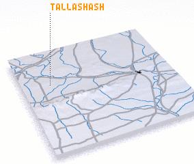 3d view of Tall Ashāsh