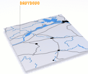 3d view of Davydovo