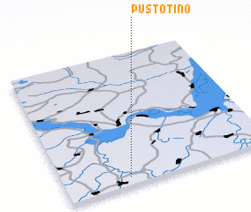 3d view of Pustotino