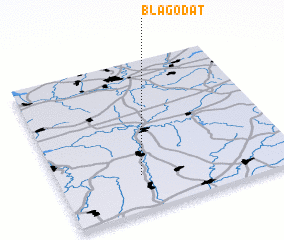 3d view of Blagodat\
