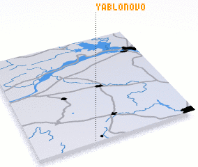 3d view of Yablonovo