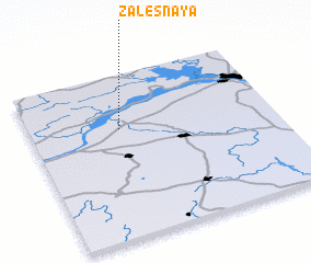 3d view of Zalesnaya