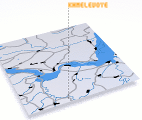 3d view of Khmelevoye