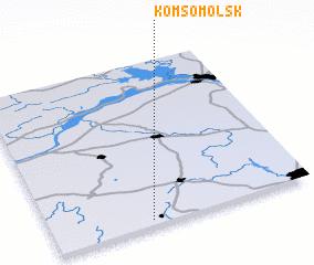 3d view of Komsomol\