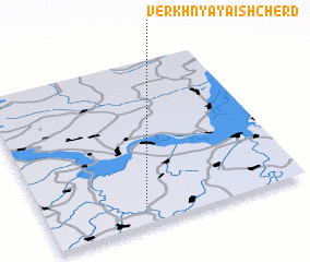 3d view of Verkhnyaya Ishcherd\