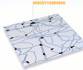 3d view of Krasnyy Gorodok