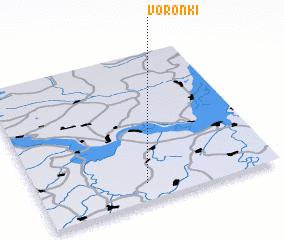 3d view of Voronki