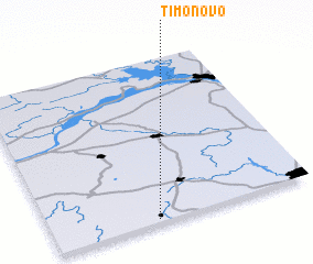 3d view of Timonovo