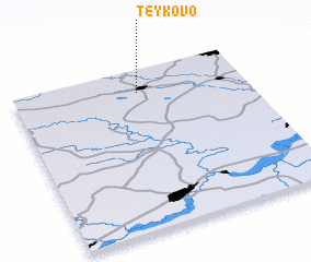 3d view of Teykovo