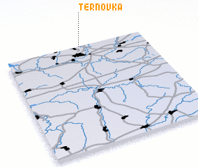 3d view of Ternovka