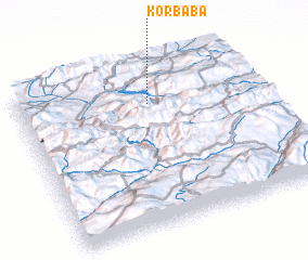 3d view of Korbaba