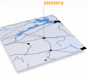 3d view of Nerekhta