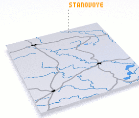 3d view of Stanovoye