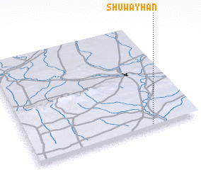 3d view of Shuwayḩān