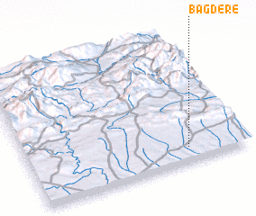 3d view of Bağdere