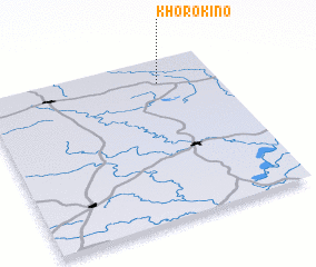 3d view of Khorokino