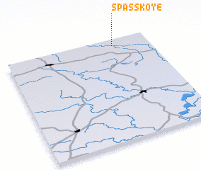 3d view of Spasskoye
