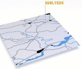 3d view of Uval\
