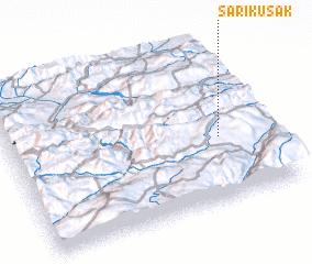3d view of Sarıkuşak