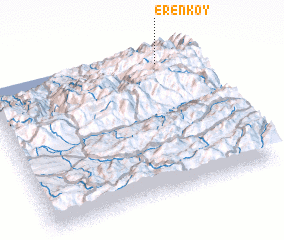 3d view of Erenköy