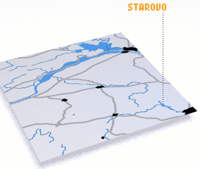 3d view of Starovo