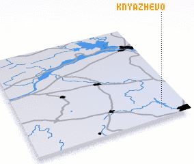 3d view of Knyazhëvo