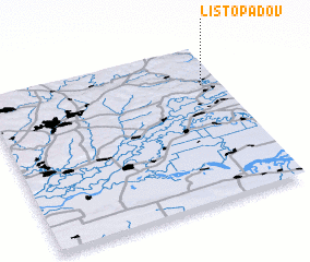 3d view of Listopadov