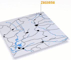 3d view of Zagorna