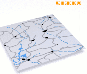 3d view of Uzhishchevo