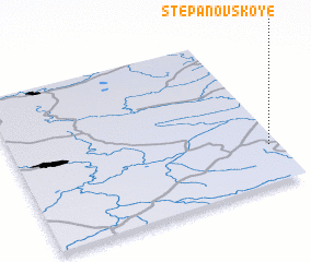 3d view of Stepanovskoye