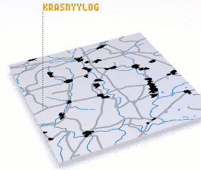 3d view of Krasnyy Log