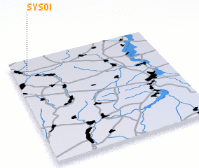 3d view of Sysoi