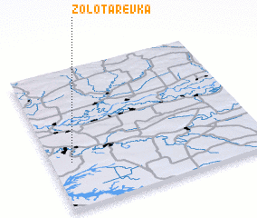 3d view of Zolotarëvka
