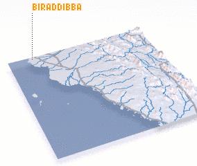 3d view of Bi'r ad Dibba