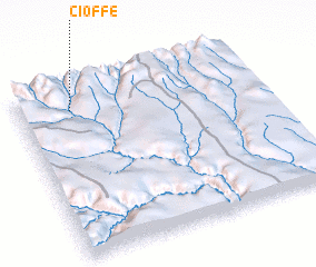 3d view of Cioffe